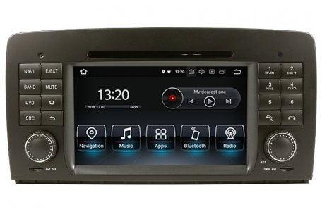 Mercedes benz r class w251 radio upgrade for Mercedes benz stereo upgrade
