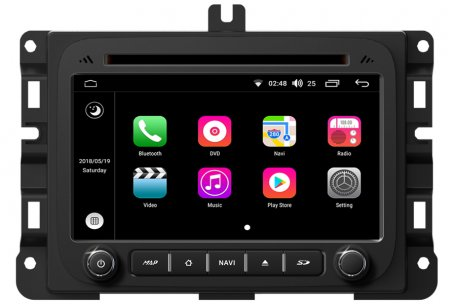 Android 8 0 Os Navigation Head Unit For Dodge Ram 1500