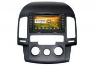 Aftermarket Navigation Radio For Hyundai i30 with Manual-AC