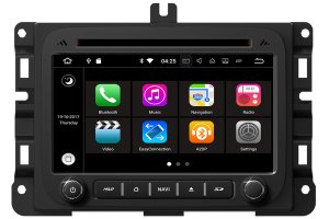 Aftermarket Navigation Head Unit For Dodge Ram 2013-2017