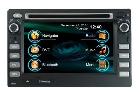 ford ecosport 2002 2012 aftremarket navigation head unit. Black Bedroom Furniture Sets. Home Design Ideas