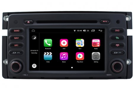 Android Os Navigation Radio Player For Smart Fortwo Forfour