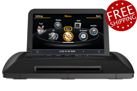 volvo xc90 2007 2013 aftermarket navigation car stereo upgrade. Black Bedroom Furniture Sets. Home Design Ideas