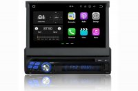 Single Din Navigation DVD Player with 7 inch Touchscreen