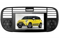 Fiat 500 Autoradio GPS Navigation Head Unit