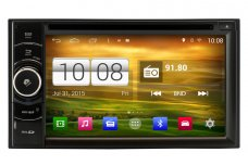Universal Double Din Android 4.4 OS Navigation Radio Player