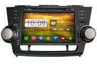 Android OS Navigation Radio Player For Toyota Highlander