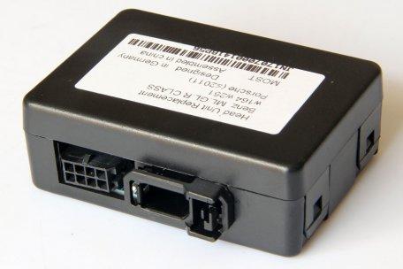 Fiber Optic MOST  adapter for MercedesBenzPorsche