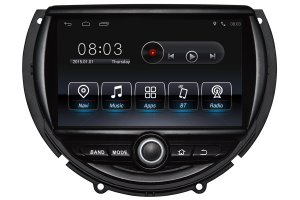 Android OS Navigation DVD Player For MINI Cooper 2014-2016