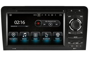 Audi A3/S3/RS3 2003-2013 Autoradio GPS Navigation Head Unit