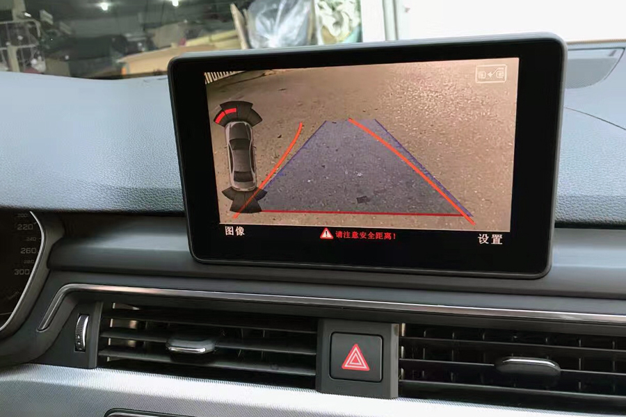 Audi A3/A4/A5/A6/Q3/Q5/Q7 Rear View Camera System : Aftermarket Navigation Car Stereo, Android ...