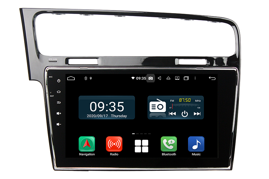 Aftermarket GPS Navigation Car Stereo For VW Golf/Gti 2012-2019
