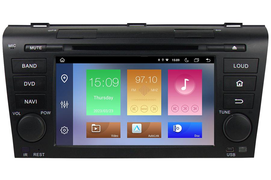 Aftermarket Navigation Auto Radio For Mazda 3 2004 2009