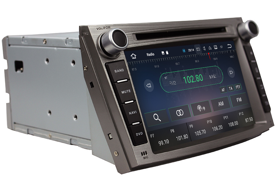 Android 7 1 Navigation Play For Subaru Legacy Outback 2008