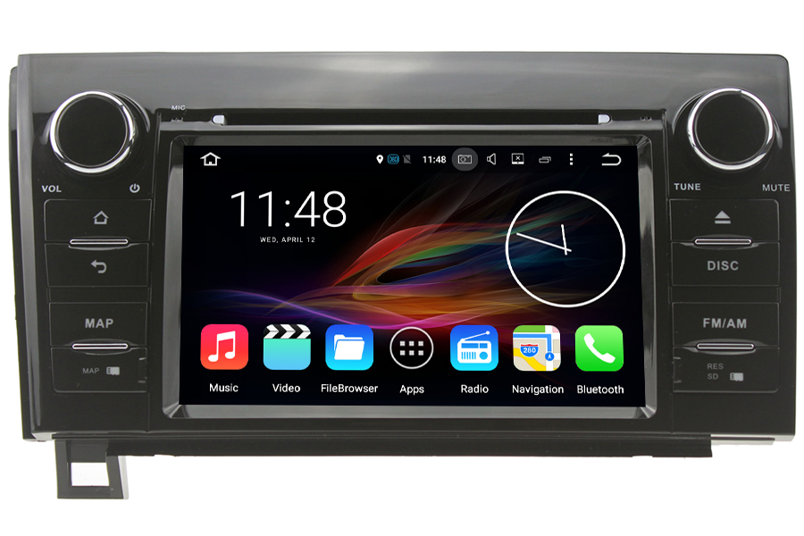 Toyota Sequoia Tundra Aftermarket Navigation Car Stereo