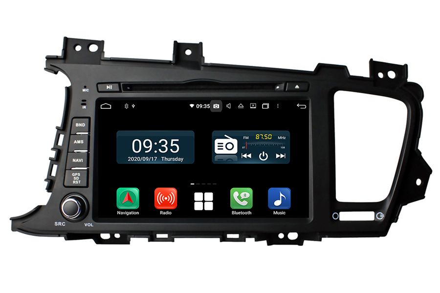 Aftermarket Navigation Radio For Kia K5 Optima 2010 2013