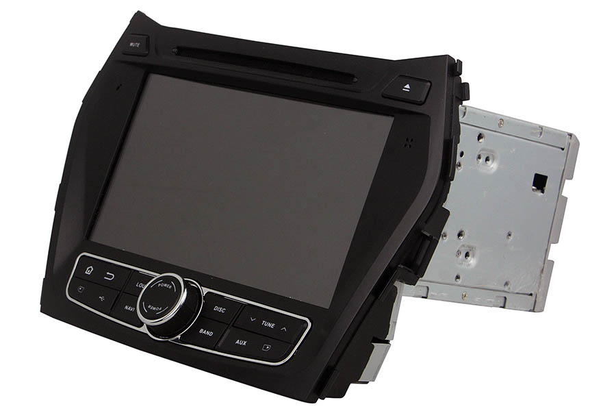 Aftermarket Navigation Radio For Hyundai Santafe Ix45 2013