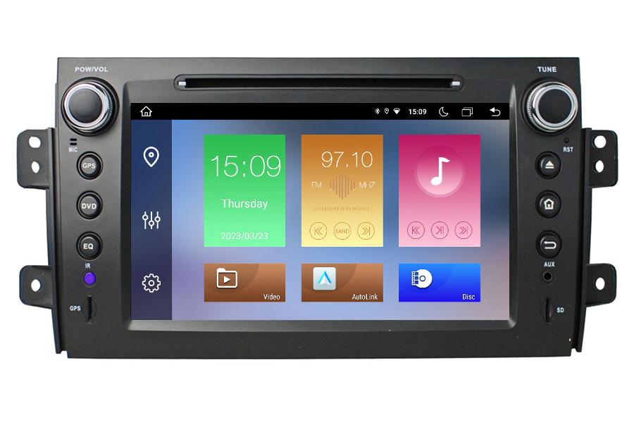 Android Os Navigation Radio Player For Suzuki Sx4 2006