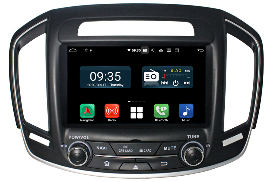 Opel Insignia Aftermarket Navigation Car DVD Player