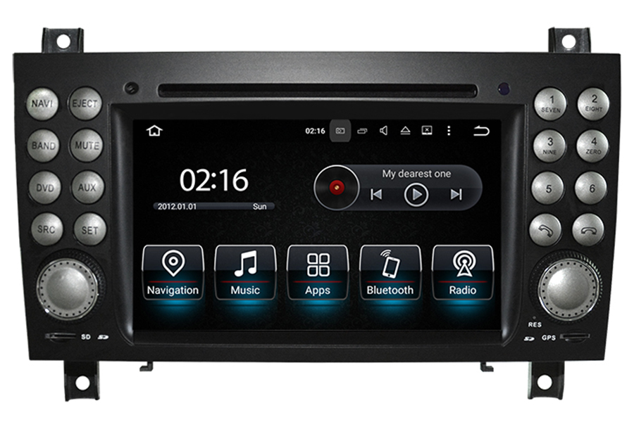 Mercedes benz slk class r171 2004 2010 radio upgrade for Mercedes benz stereo upgrade