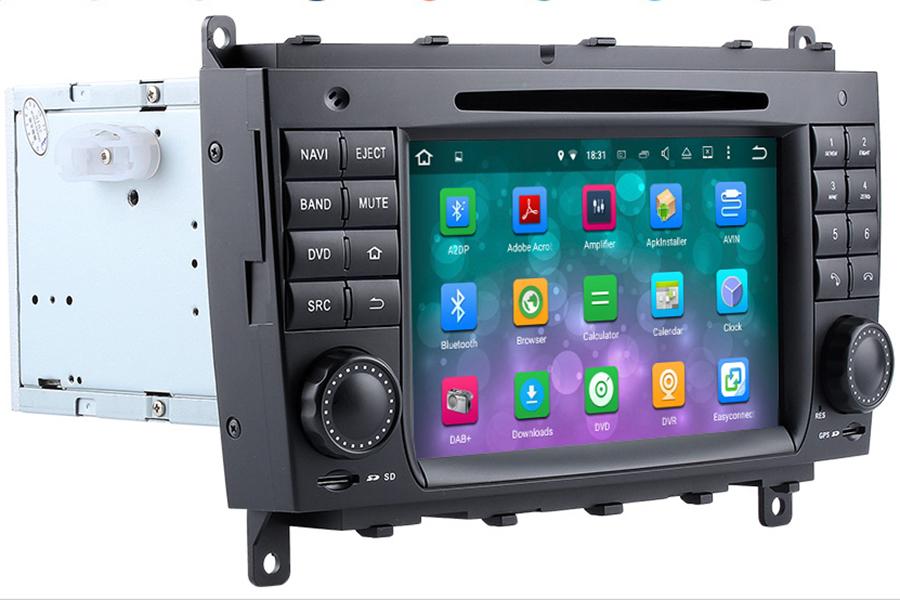 Mercedes-Benz CLK(C209/W209) radio upgrade