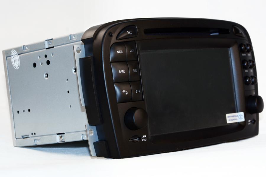 Mercedes-Benz SL-R230 2001-2005 Aftermarket Navigation Player