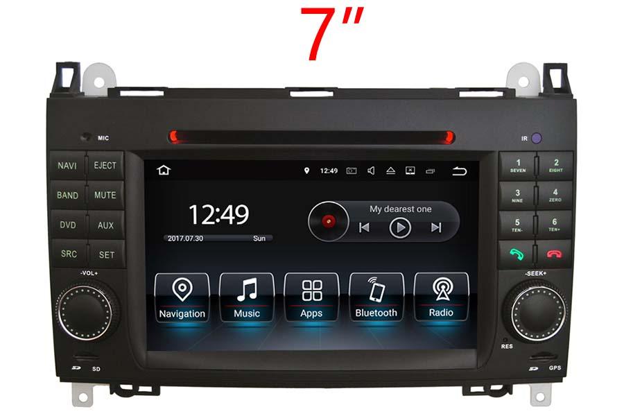 Mercedes-Benz A/B/Viano und Vito/Sprinter/Crafter radio