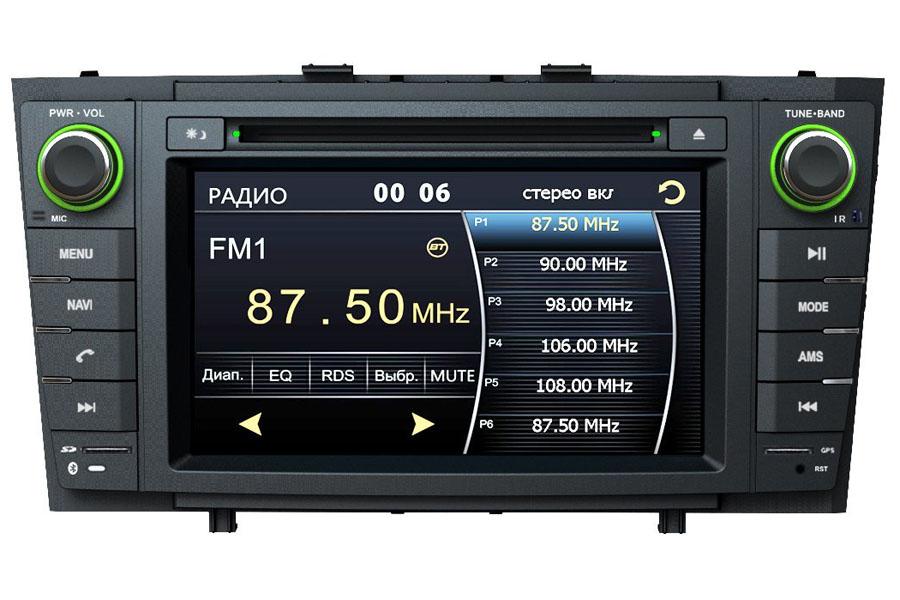 toyota avensis 2008 2013 aftermarket navigation car stereo. Black Bedroom Furniture Sets. Home Design Ideas