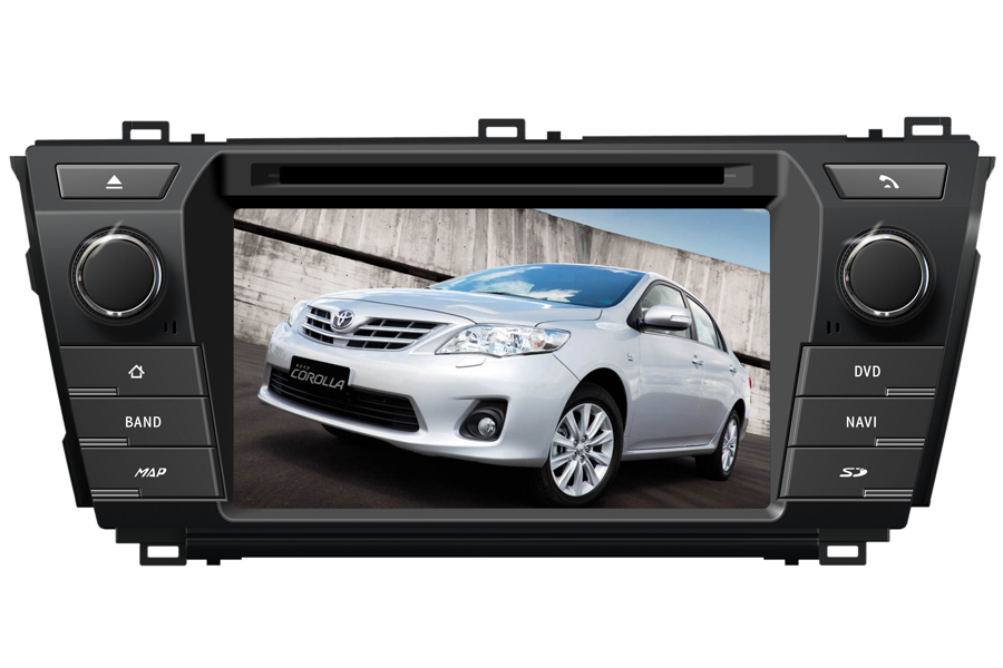 Toyota Corolla 2013-2015 Aftermarket Navigation Car Stereo ...