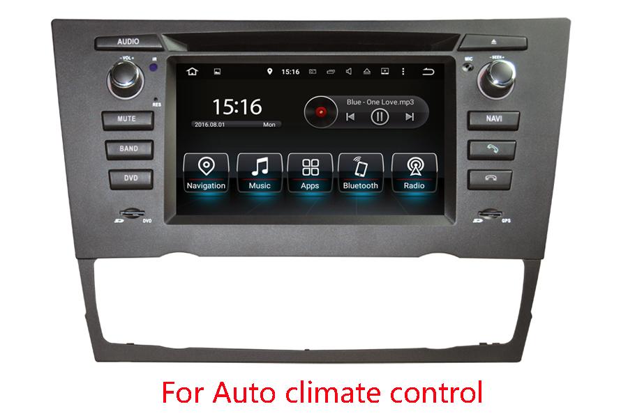 BMW 3 Series/M3(E90/ E91/E92/E93) GPS Navigation Head Unit