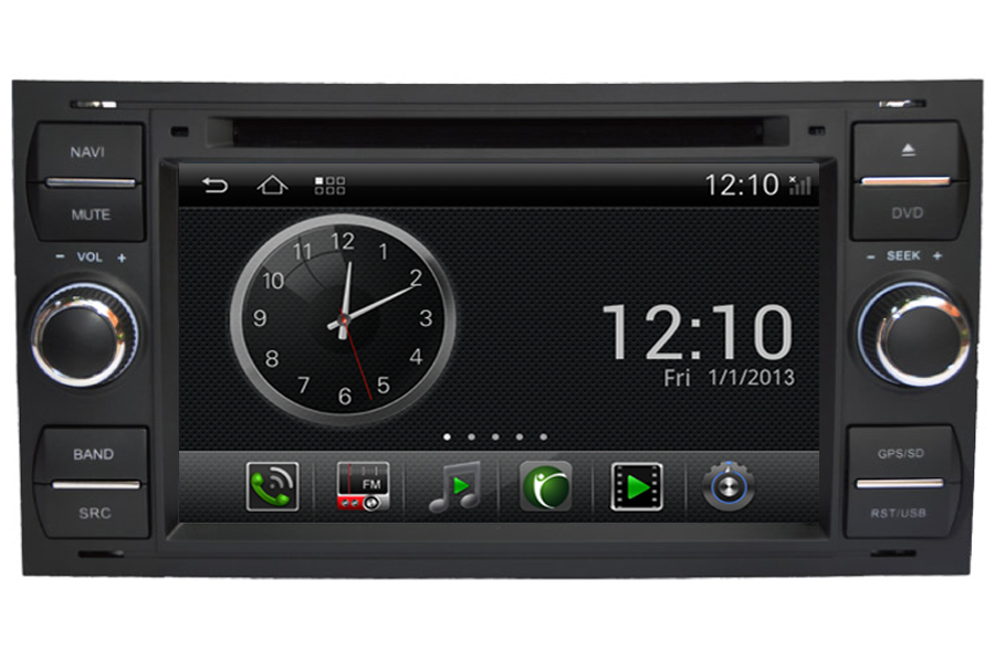 android os navigation radio player for ford focus c max. Black Bedroom Furniture Sets. Home Design Ideas