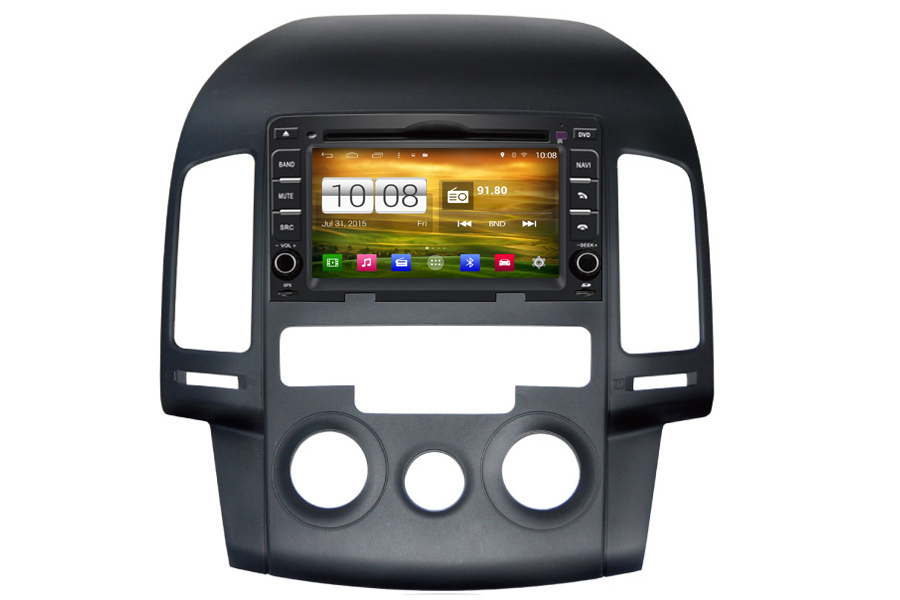 aftermarket navigation radio for hyundai i30 2007