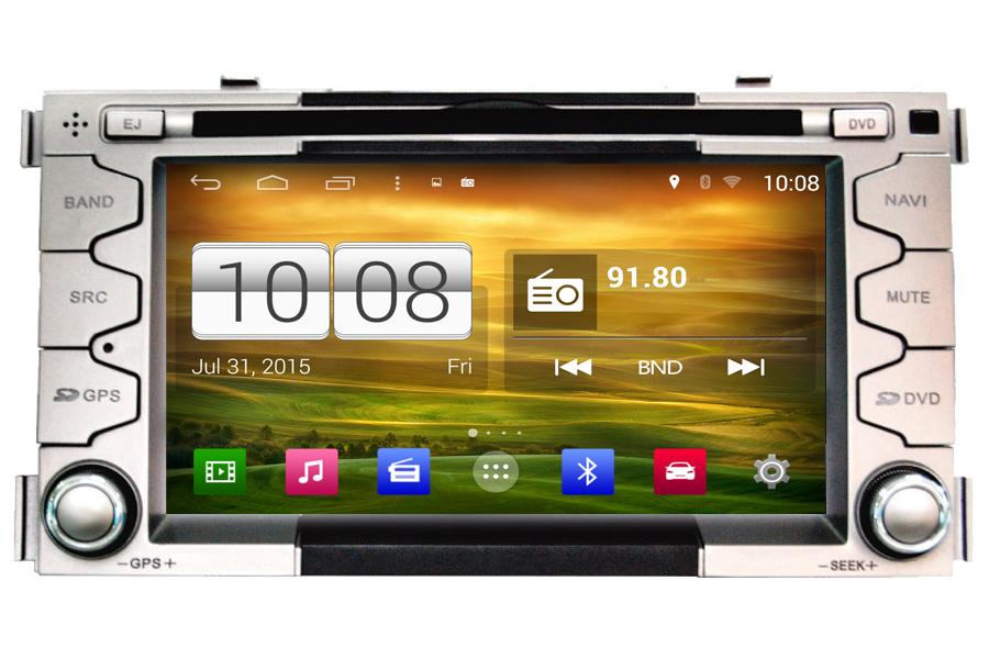Android Os Navigation Radio Player For Kia Soul 2008 2012