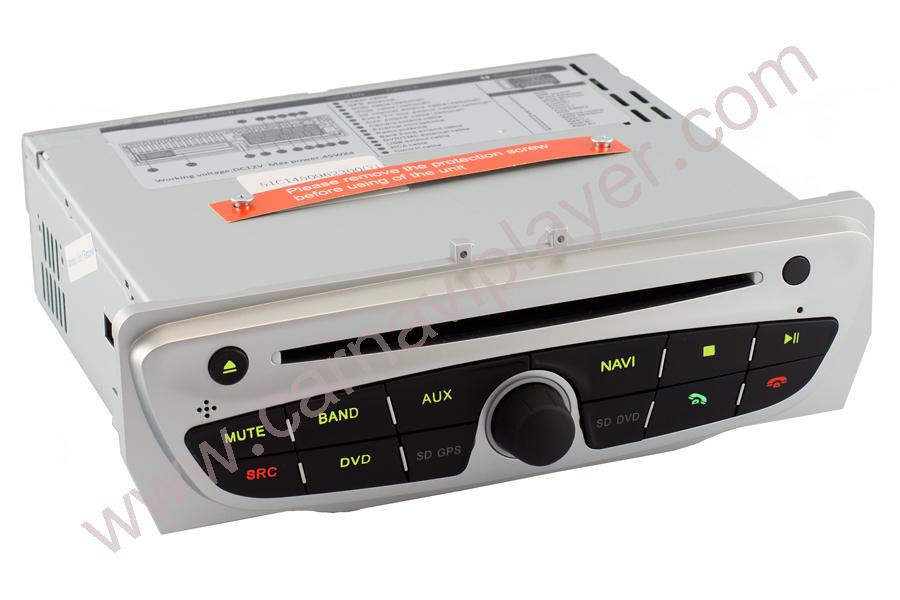 Android OS Navigation Radio Player For Renault Megane III
