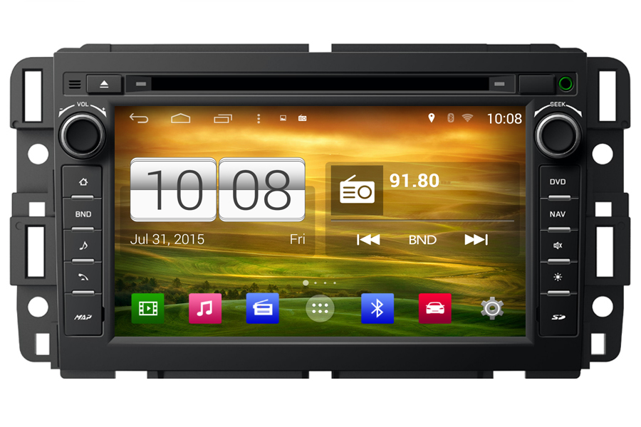 Aftermarket Gps Navigation Car Stereo For Chevrolet Series