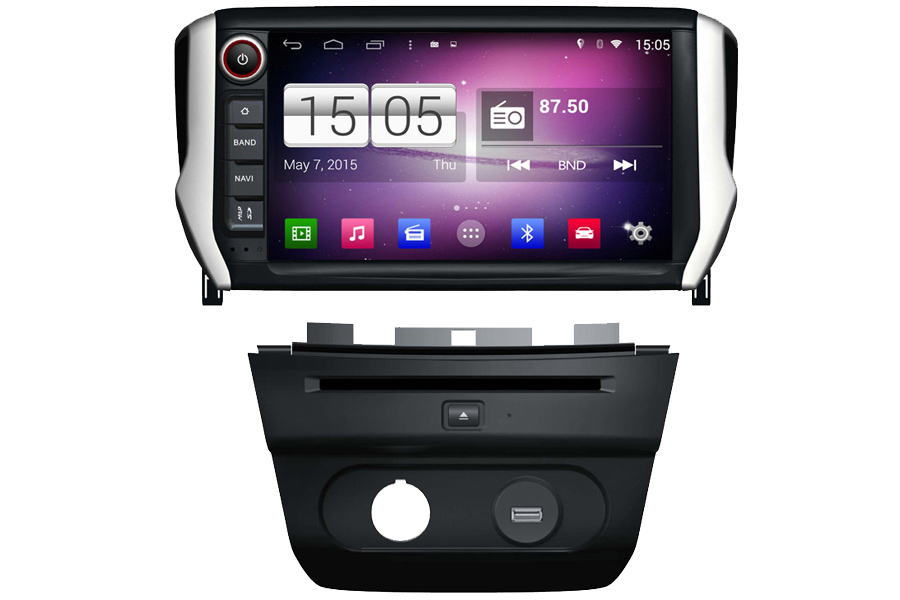 peugeot 307 autoradio gps dvd navigation system. Black Bedroom Furniture Sets. Home Design Ideas