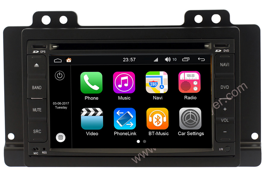 Aftermarket Backup Camera >> Android 7.1 OS Double Din head unit for Discovery I ...