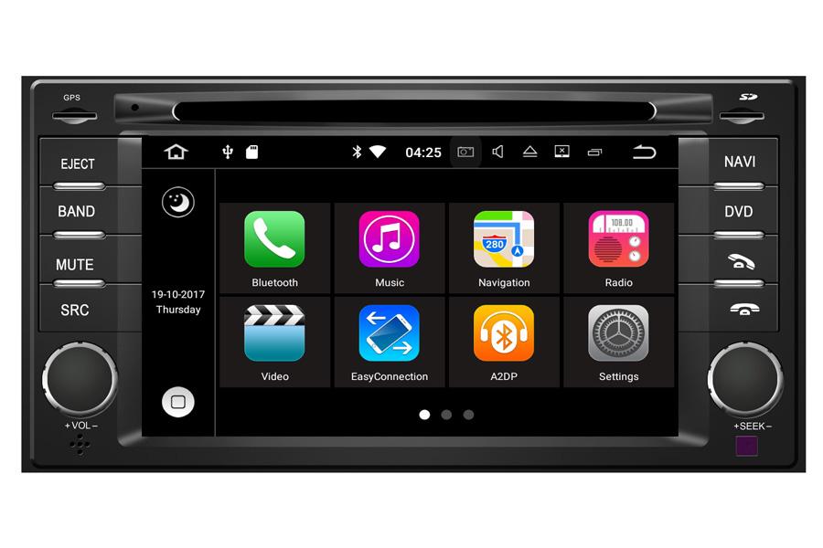 Toyota Navigation Update >> Android 7.1 Navigation Player For Subaru Forester/Impreza : Aftermarket Navigation Car Stereo ...