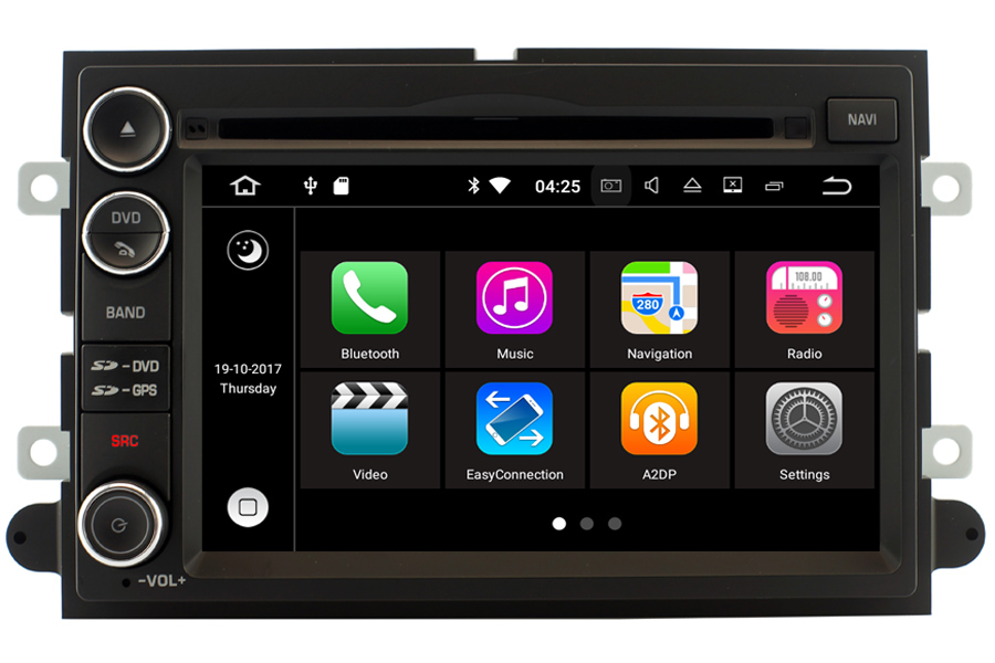 Ford Series Aftermarket Navigation Head Unitrhcarnaviplayer: Ford Edge Radio Replacement At Gmaili.net