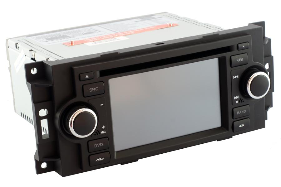 Aftermarket Navigation Head Unit For Dodge 2002 2008