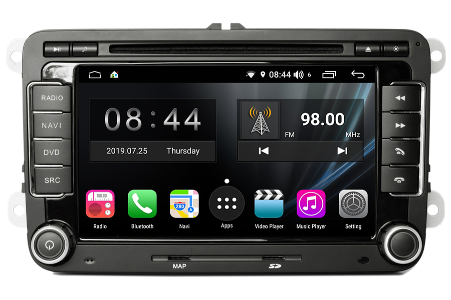 Aftermarket GPS Navigation Car Stereo For Volkswagen All Series