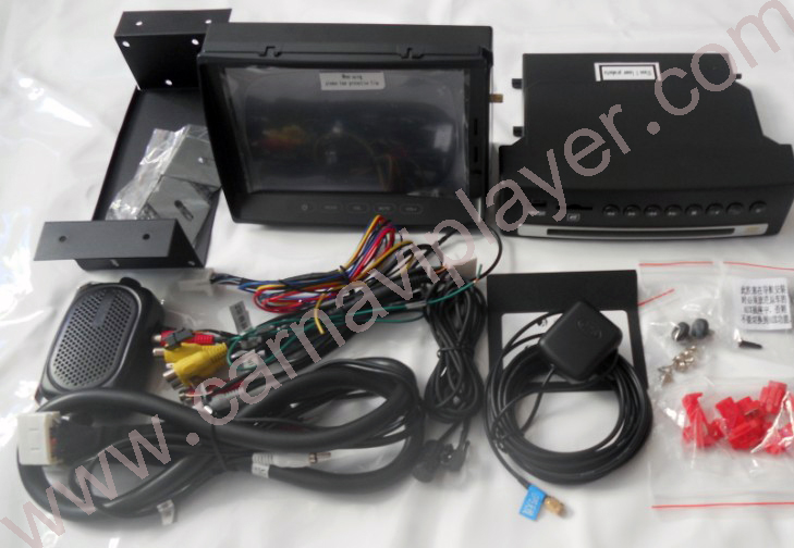 Land Rover Discovery 3 Aftermarket Navigation Head Unit