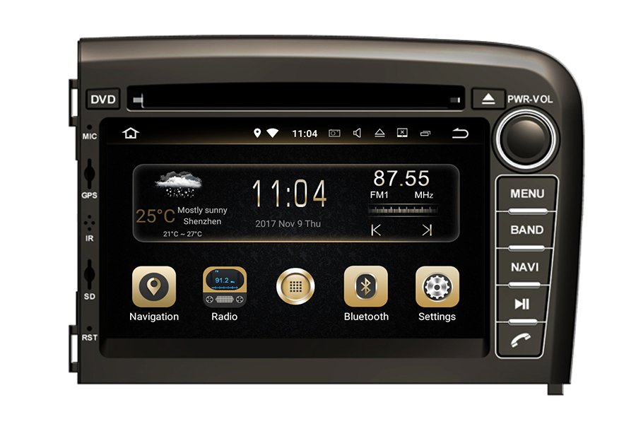 Volvo S80 1998 2006 Aftermarket Navigation Car Stereo Upgrade