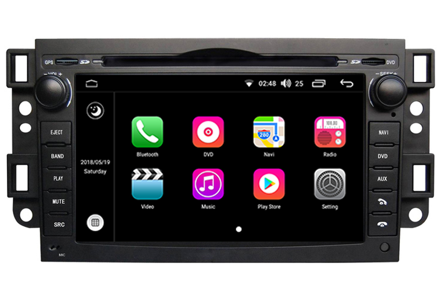 Aftermarket Gps Navigation Car Stereo For Chevrolet Aveocaptiva