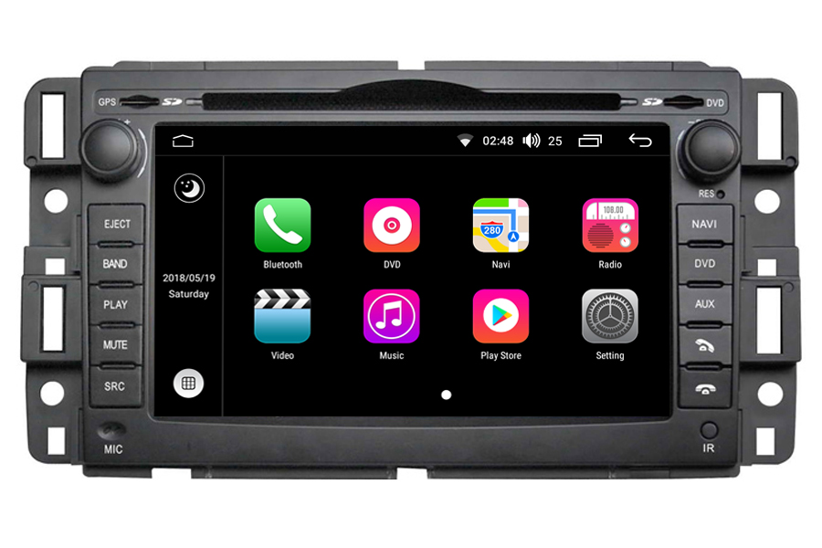 gmc acadia savana sierra yukon aftermarket navigation head unit rh carnaviplayer com 2010 GMC Acadia Replacement Light 2010 GMC Acadia Battery Location