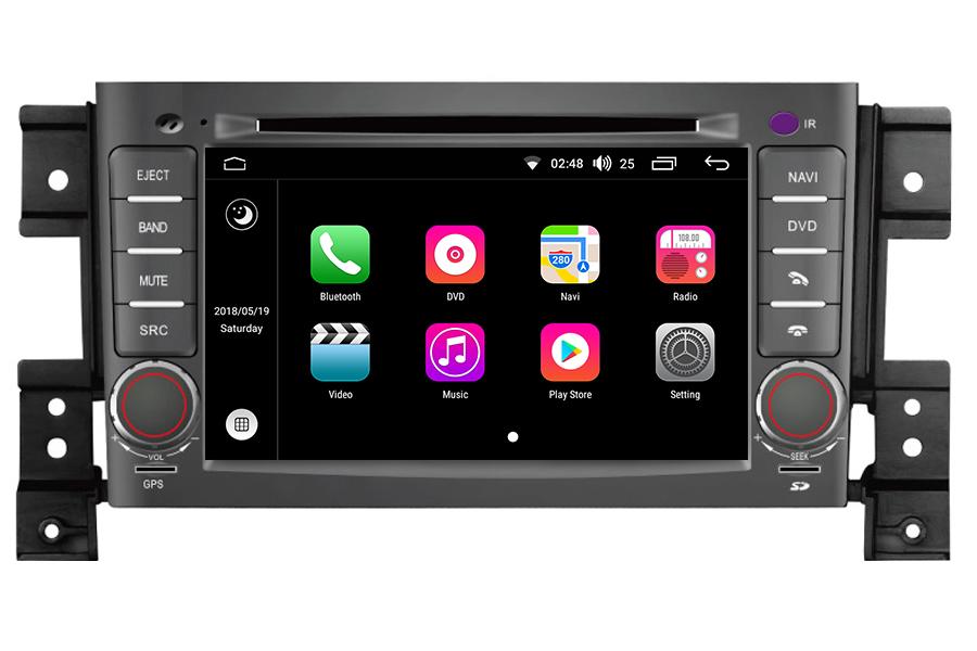 android os navigation radio player for suzuki grand vitara. Black Bedroom Furniture Sets. Home Design Ideas