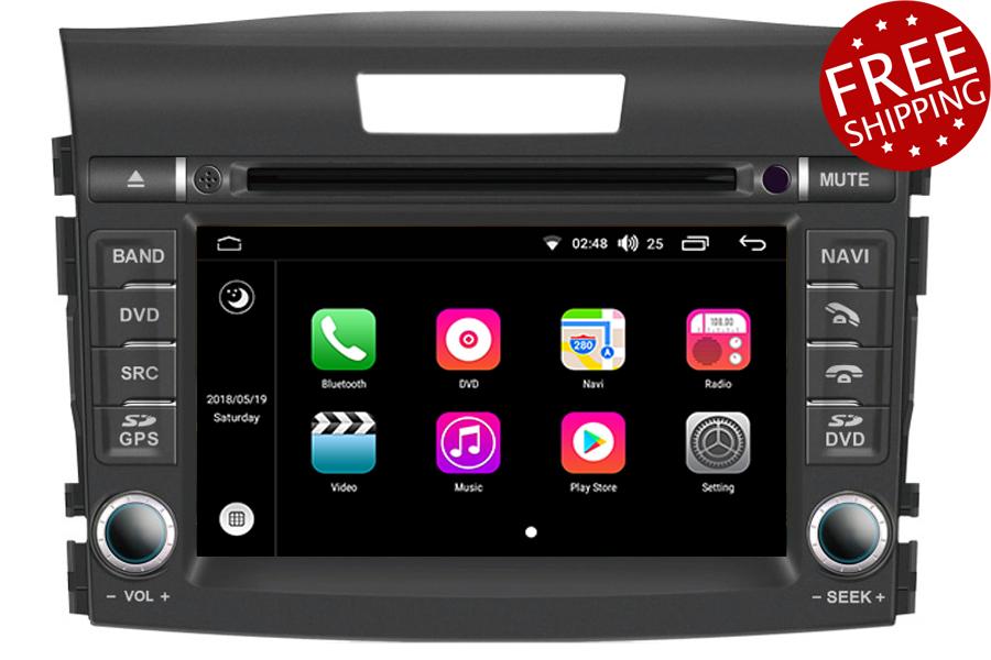 Aftermarket Navigation Radio For Honda CR-V 2012-2016