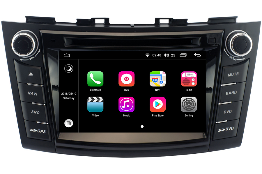 Android OS Navigation Radio Player For Suzuki Swift 2011-2013