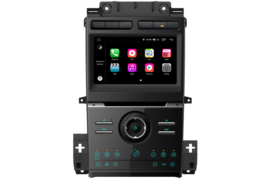 Aftermarket Navigation Head Unit For Ford Taurus 2013-2017