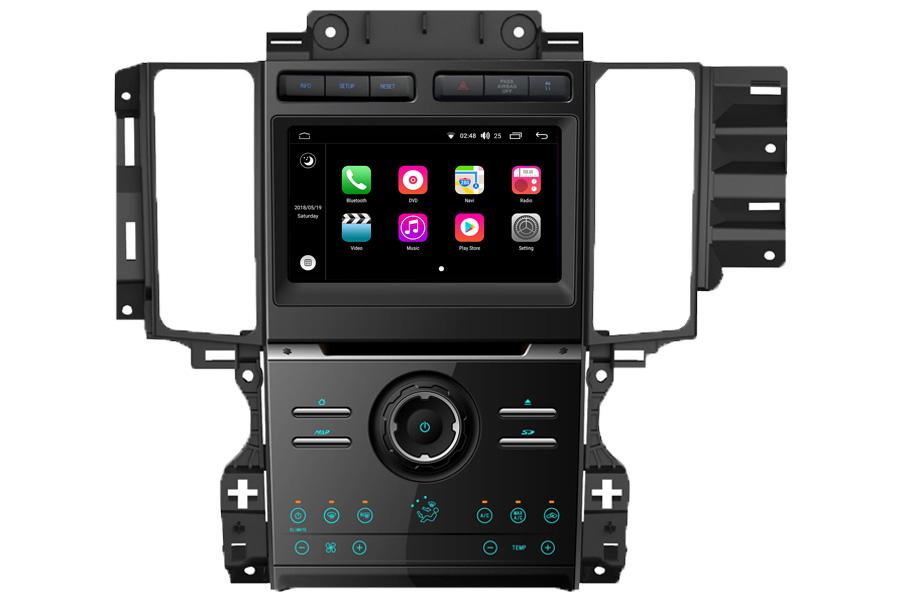 Aftermarket Backup Camera >> Aftermarket Navigation Head Unit For Ford Taurus 2010-2012 ...